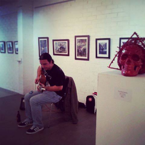 Live at The Mad Gallery, Lancefield, 2014!