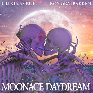 Moonage Daydream cover artwork by Dan Verkys