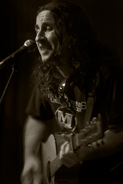 Live at The Espy Basement in 2009!