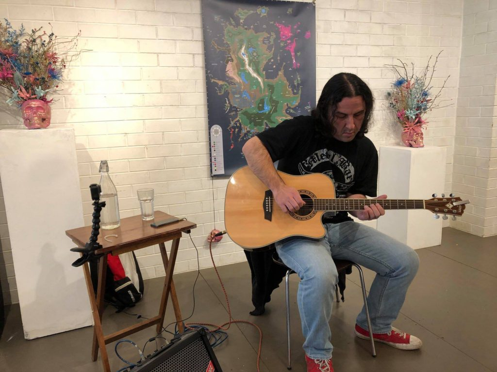 Live at Mad Gallery - June 2018!!